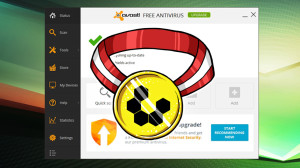 Avast Top Choice at Lifehacker - Image taken from http://lifehacker.com/five-best-desktop-antivirus-applications-1607557993/1609811791/+alanhenry