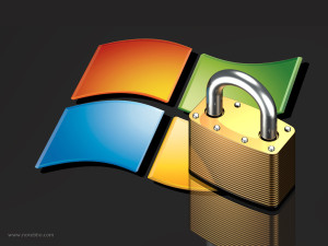 Microsoft Windows Security - Image by http://www.norebbo.com/